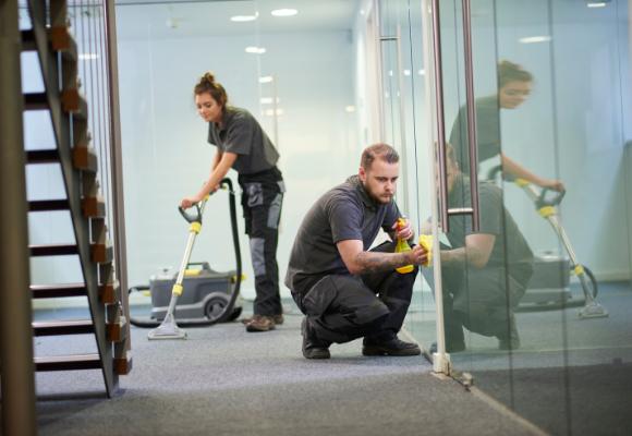 Gebäudereinigung - Büroreinigung Detailansicht