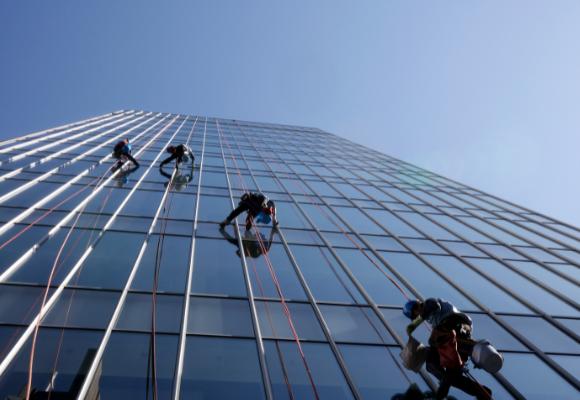 Gebäudereinigung - Fensterreinigung